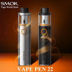 SMOK VAPE PEN 22 E cigarrillo Hookah pluma vaporizador cigarrillo electrónico VS Eleaf iJust S iJust 2 Stick V8 kit S085