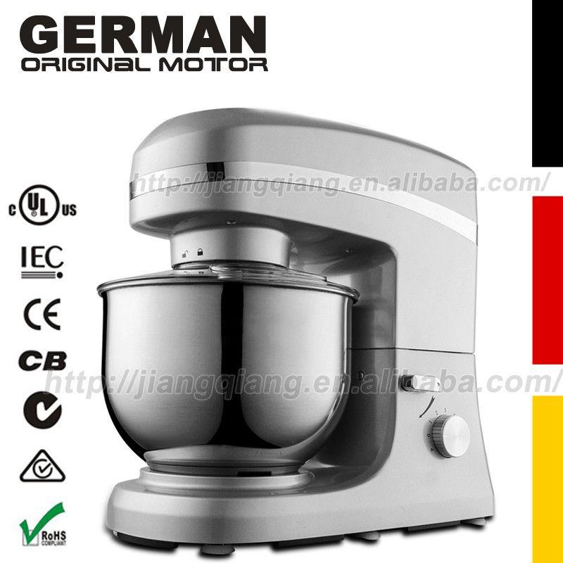 La technologie allemande Série KP26M Vitesses Professionnel Batteur sur Socle, 5 L, argent