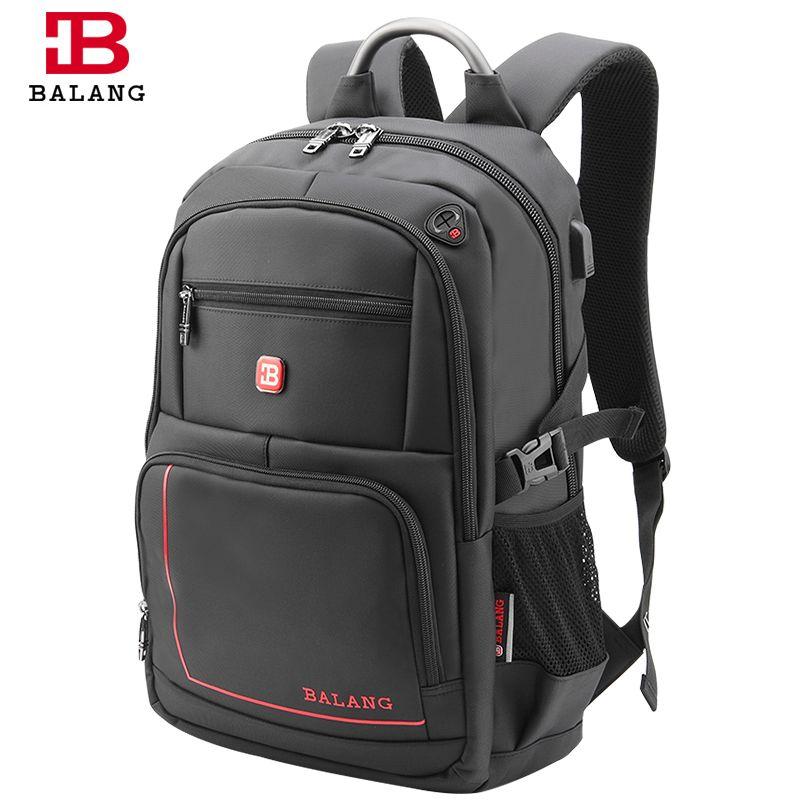 BaLang Men's Backpacks for Laptop Man Daily Rucksack Notebook Travel Bag School Bags 15.6 inch Women Bagpack Mochila Feminina