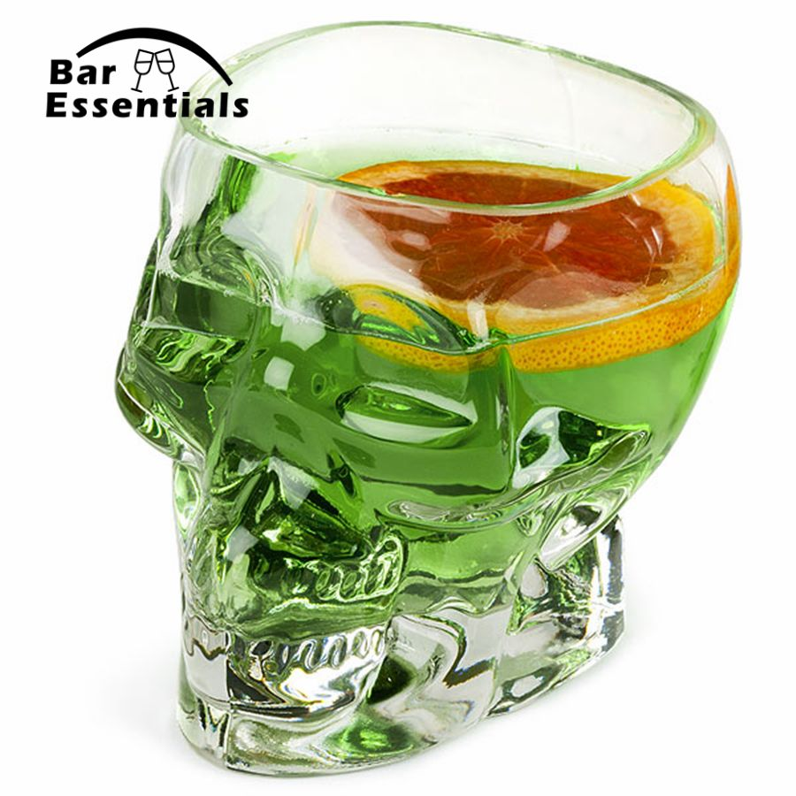 Skull Glass 700ml beer stein shot wine glass Head Whiskey Drinking popular design new fashion party