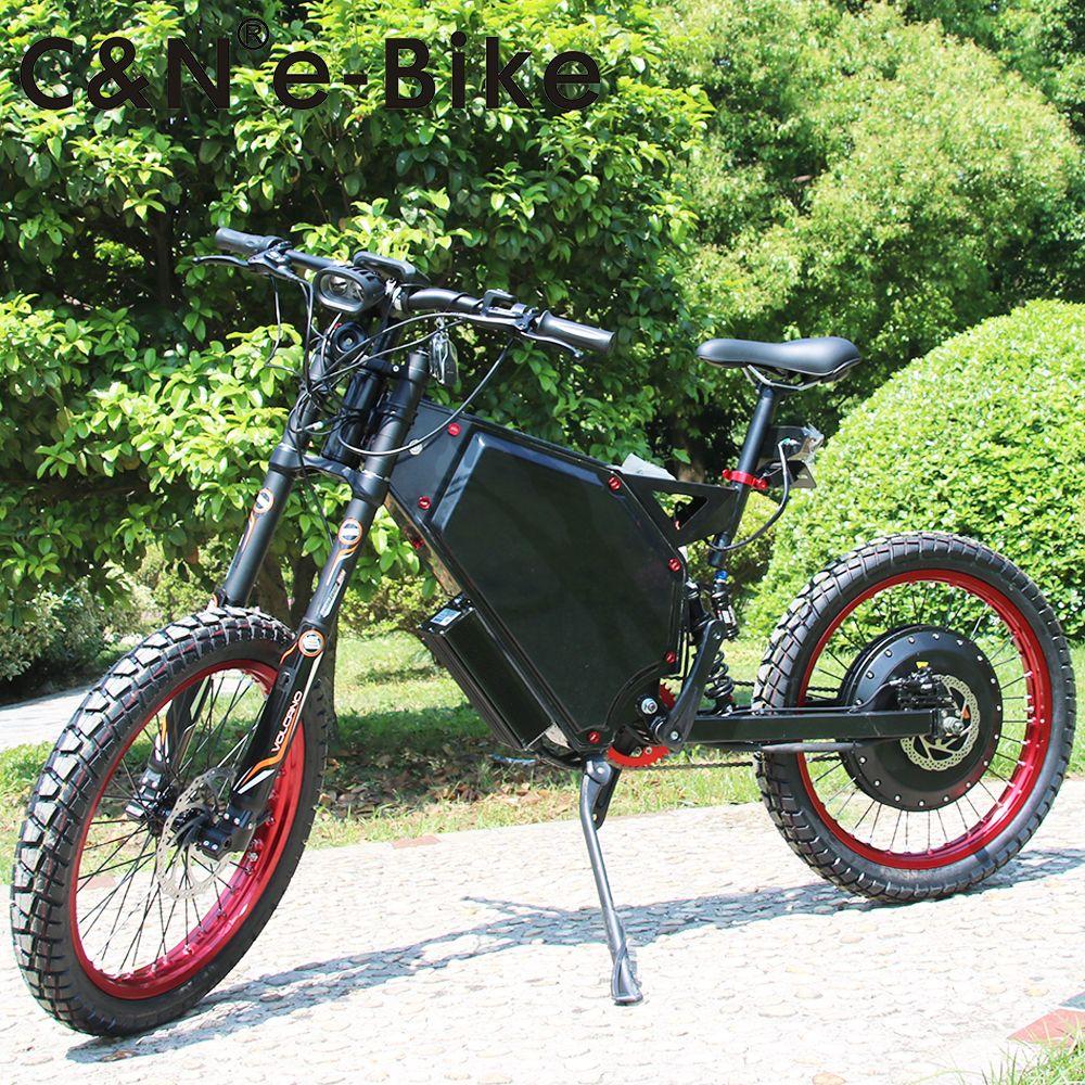 2018 Year Newest 72v 8000w Bicycle Enuro ebike Electric Mountain Bike