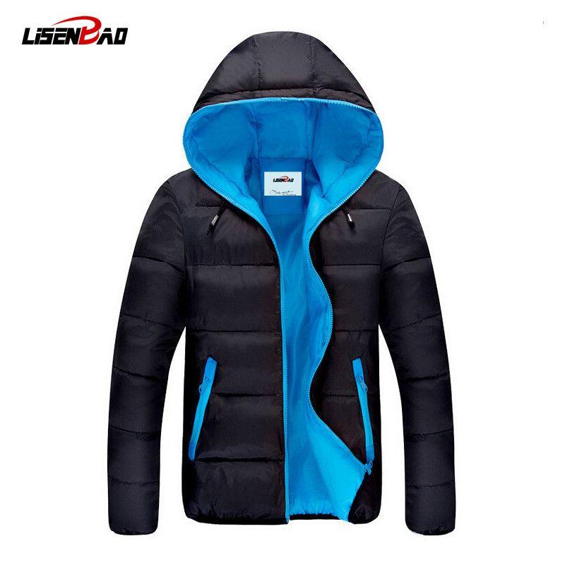 2017 Hot Selling Fashion Casual winter jacket men Coat Comfortable&High Quality Jacket 3 Colors Plus Size XXXL Wholesale