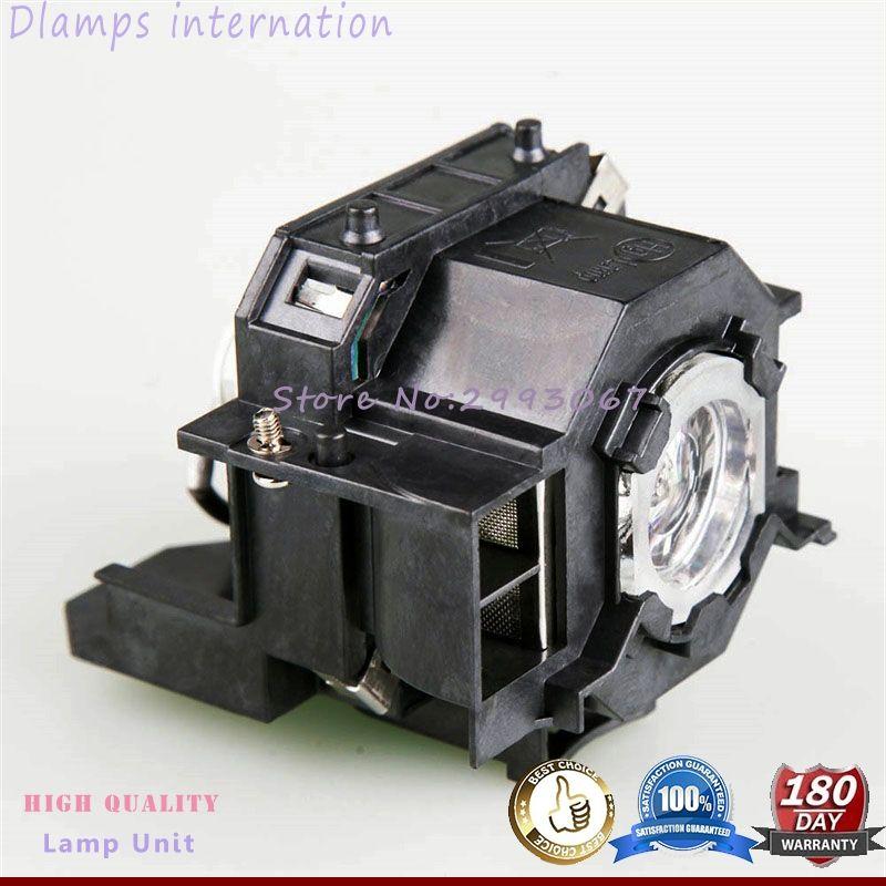 Haute Qualité V13H010L41 Module De Lampe de Projecteur Pour EPSON EMP-S5 EMP-S52 T5 EMP-X5 EMP-X52 EMP-S6 EMP-X6 EMP-822 EX90 EB-S6 ELPL41