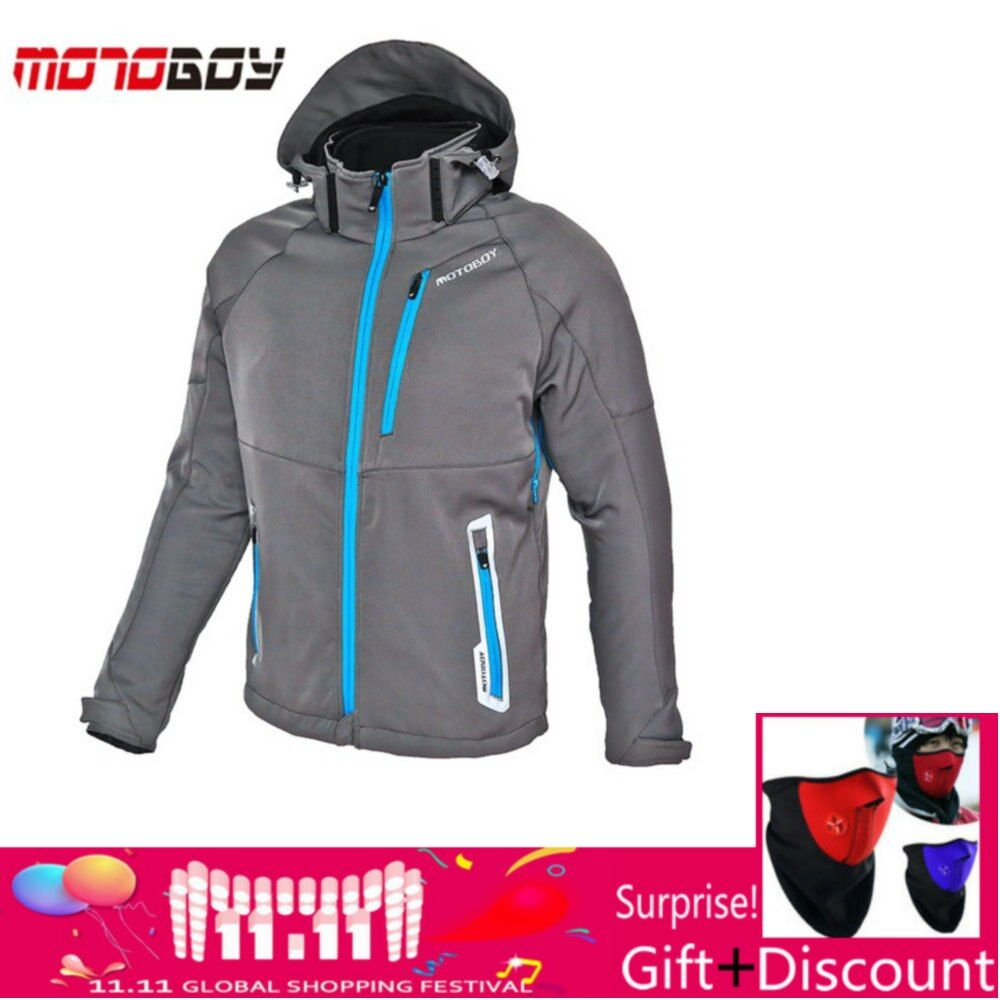 how-yes MOTOBOY motorcycle winter jacket have warm liner Racing drop jacket Body Armor Protective Moto Motocross Off-Road Racing