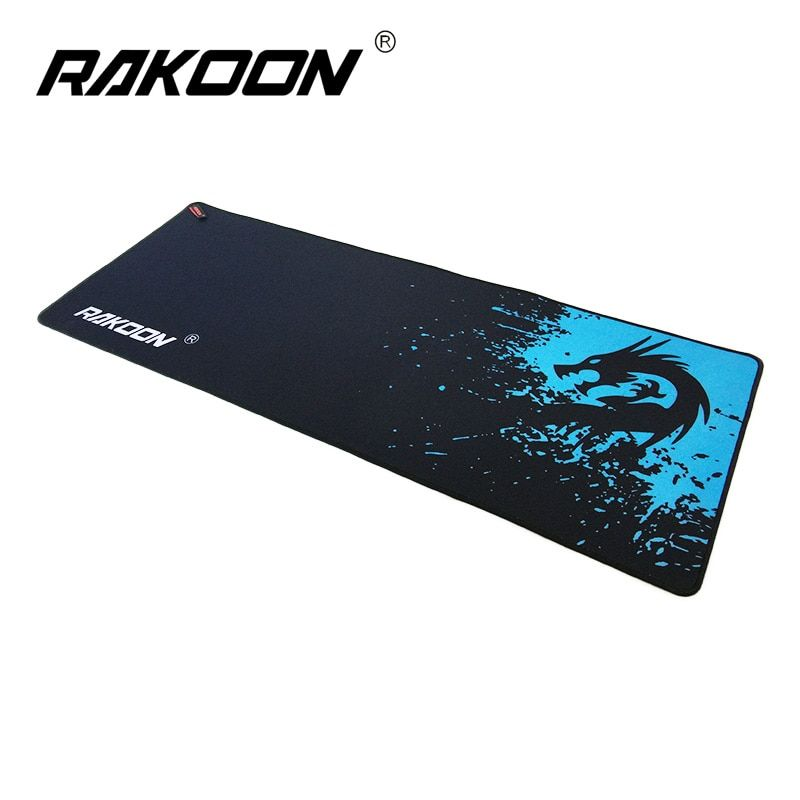 Zimoon Store Large Gaming Mouse Pad Locking Edge Mouse Mat Speed/Control Version For Dota Warcraft Mousepad 6 Sizes