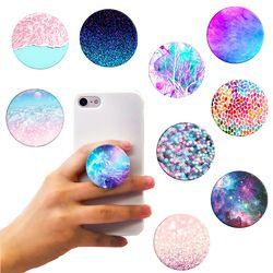 Soporte de teléfono de moda pop up expansión titular del teléfono móvil soporte para iPhone Samsung galaxia redondo socket montaje del anillo de dedo