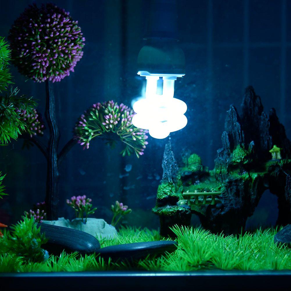 UVB5/10 Reptile Tortue Supplément De Calcium Lumière Ampoule Fluorescente Compacte Vivarium Lampe Lumière 13 W E27 Vis Lumière