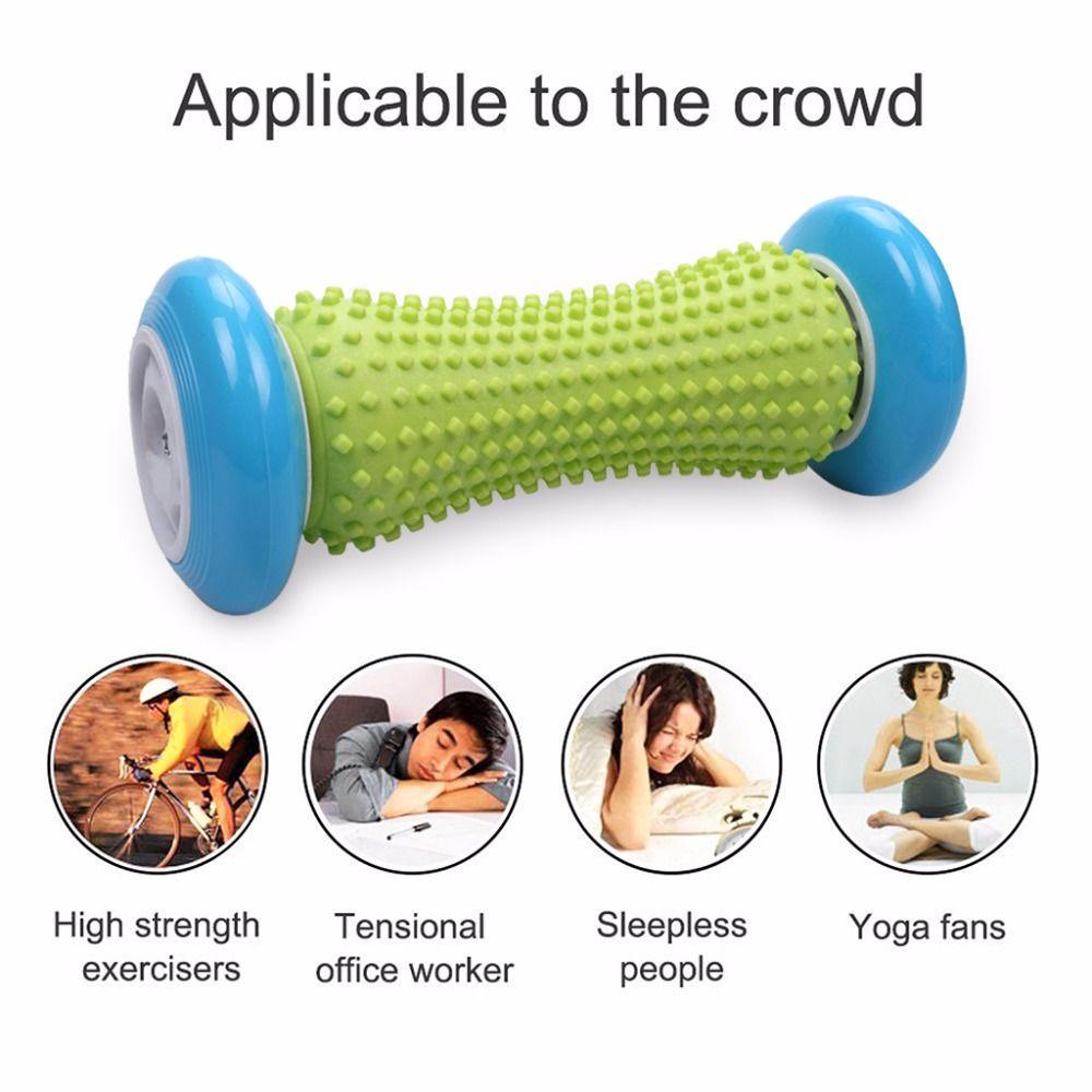 Thérapie physique de tissu profond de Point de déclenchement de rouleau de Massage de main de pied pour la fasciite plantaire