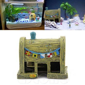 Aquarium Aménagement Paysager Décoration Résine Maison Pour Fish Tank