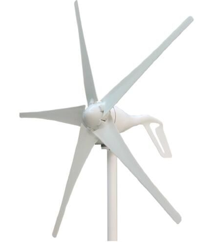 Easy Installation Wind Mill 400W 12V 24VDC Horizontal Axis Wind Turbine Clean and Renewable Energy
