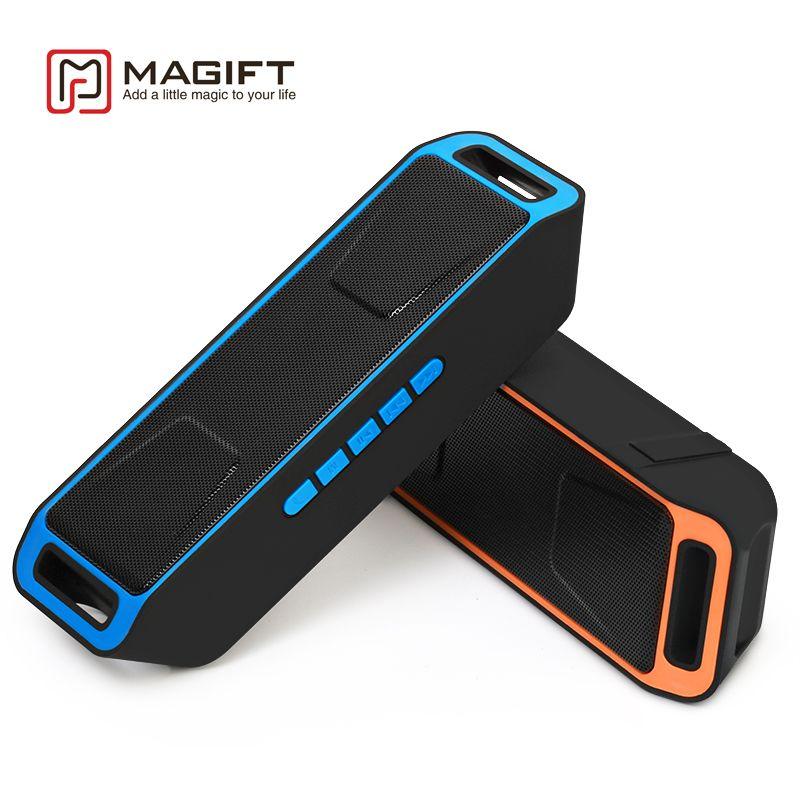 Portable Wireless Bluetooth <font><b>Speaker</b></font> High-fidelity Bass Sound Stereo Subwoofer Dual Loudspeaker FM Radio USB Mic TF card Function