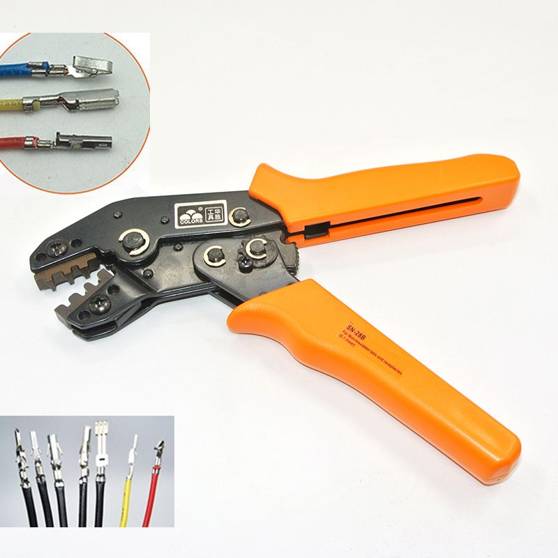 Crimping Tool Crimping Pliers For Dupont XH2.54 KF2510 SM 2.54mm 3.96mm Plug Terminals AWG28-22