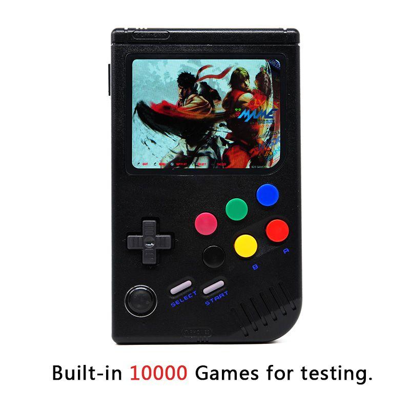 Neue 3,5 zoll IPS Screen Handheld Game Player Eingebaute 10000 Klassische Spiele Raspberry Pi 3 Modell B/B + emulator Retro Spiel Konsole
