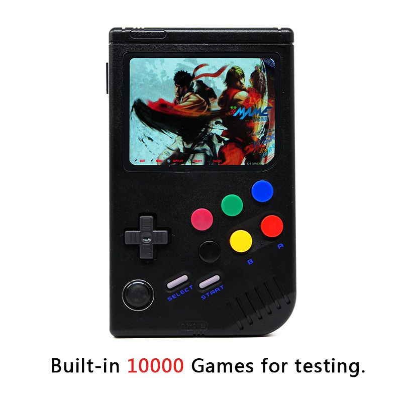 New 3.5 Inch IPS Screen Handheld Game Player Built-in 10000 Classic Games Raspberry Pi 3 Model B/B+ Emulator Retro Game Console