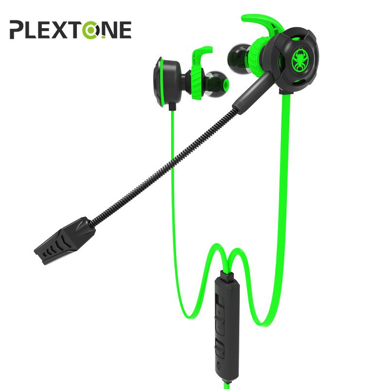 PLEXTONE G30 Gaming Headset For Gamer Stereo With Dual Microphone In-ear Earbuds Bass Wired Earphone For Phone Computer PS4