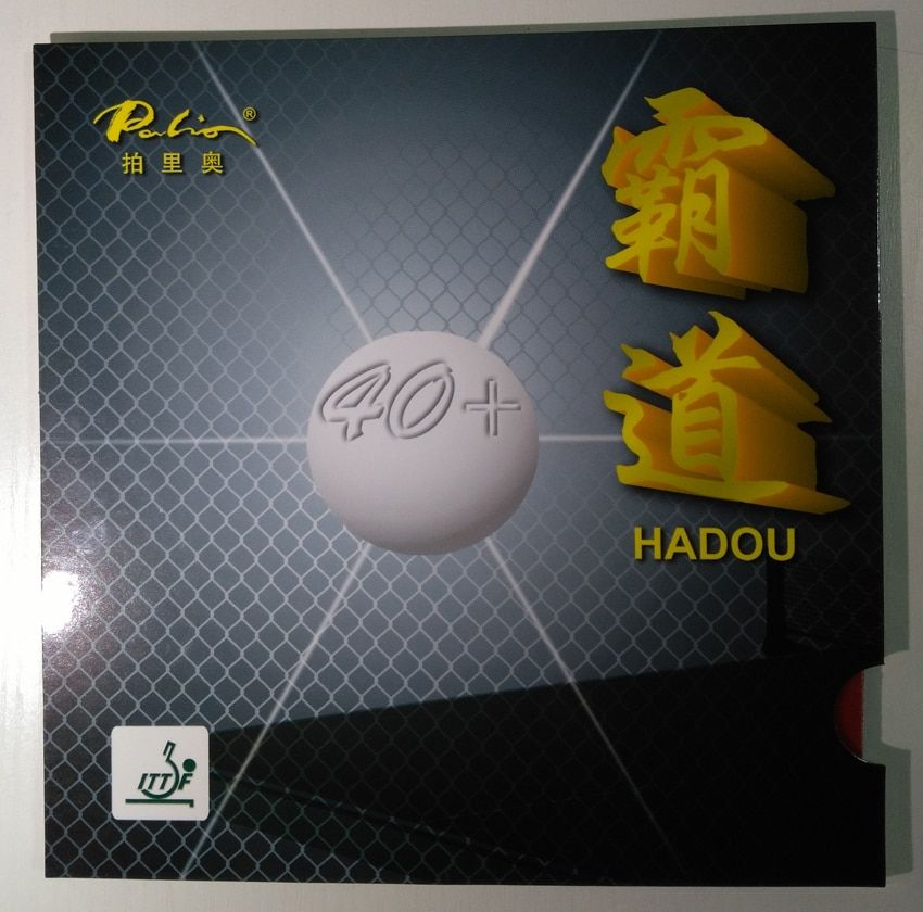 Original palio 40 + hadou tischtennis gummi blau schwamm palio gummi für tischtennisschläger ping pong paddel schläger sport