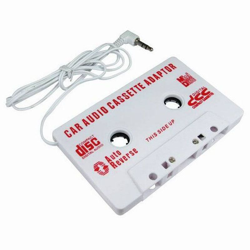 OMESHIN 3,5mm Auto Stereo Audio-kassette Adapter Für iPhone Für iPod MP3 Audio CD-Player Apr6 Drop Shipping