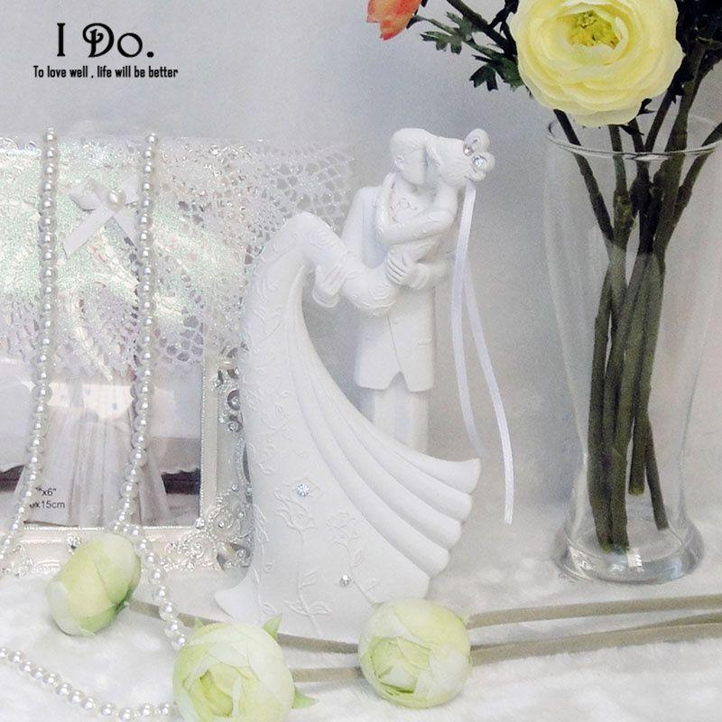2016 décorations d'anniversaire enfants livraison gratuite résine mariée et le marié gâteau de mariage Topper Stand accessoires décoration Casamento