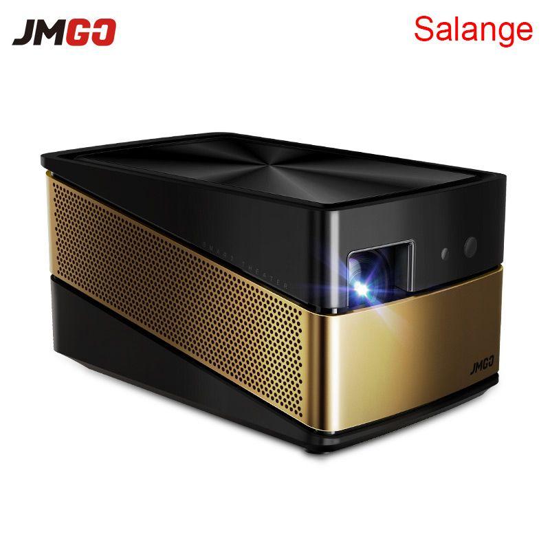 JmGO V8 4 K Projecteur 3D Android Full HD 1080 P 1920*1080 Bluetooth 4.0 2G/16G Salut-fi Haut-Parleur Frais Généraux Projetor Home Cinéma