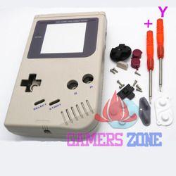 Pour Gameboy Game Boy Console Originale Shell Case Logement w Écran W/Tournevis