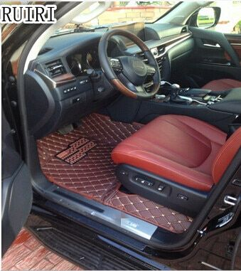 Good quality! Special car floor mats for Lexus LX 450d 5 Seats 2016 waterproof rugs carpets for LX450d 2018-2015,Free shipping