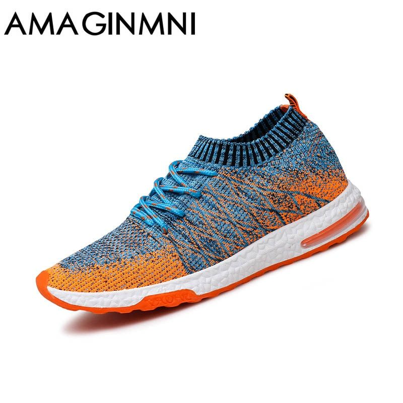 2018 New Breathable Mesh Summer Men Casual Shoes Slip On Male Fashion Footwear Slipon Walking Unisex <font><b>Couples</b></font> Shoes Mens Colorful