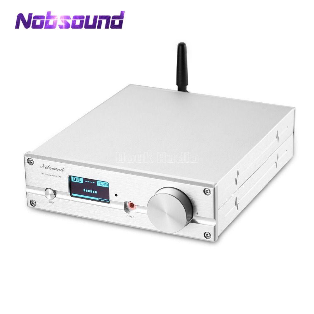 HiFi ES9038Q2M DAC Bluetooth 5.0 USB XMOS Audio Decoder Stereo DSD512 APTX HD Desktop Mini Amplifier With headphone Jack