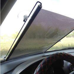 Retractable Del Coche Del Parabrisas Del Visera Parasol Auto Delantero Trasero Lado Ventana Persianas Parasoles sombrillas Anti UV 125x58 cm 40x60 cm