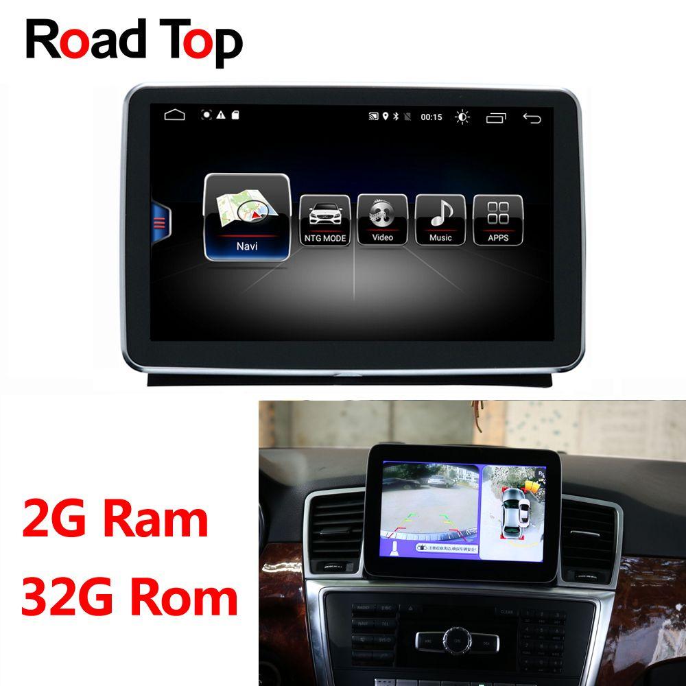Android 8.1 Octa 8-Core CPU 2 + 32G Auto Radio GPS Navigation Bluetooth WiFi Kopf Einheit Bildschirm für mercedes Benz M ML W166 GL X166