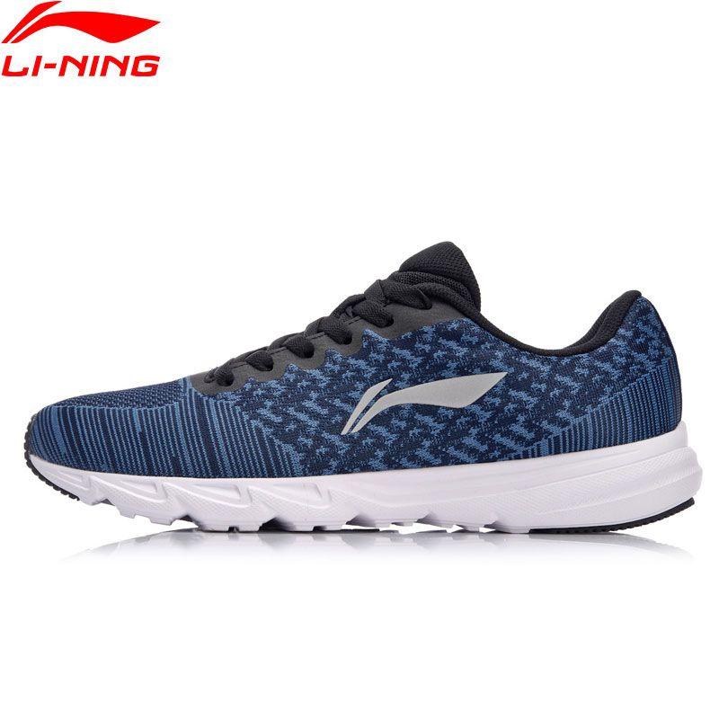 Li-Ning Men EZ RUN Cushion Running Shoes Light <font><b>Weight</b></font> Sneakers Wearable Footwear Anti-Slippery LiNing Sport Shoes ARBN019 XYP637