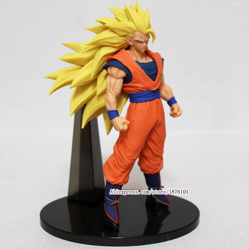 Dessin animé Dragon Ball Z Goku figurine Juguetes ACGN Dragon Ball Super Saiyan 3 figurines à collectionner modèle enfants jouets Brinquedos