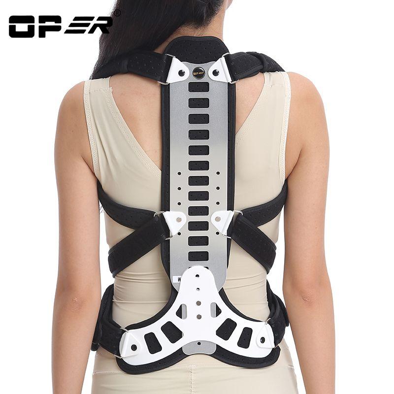 OPER Spinal Orthese Fixierung Klammer Brust Wirbelsäule Kyphose Korrektur Schulterstütze ankolising spondylitis unterstützung