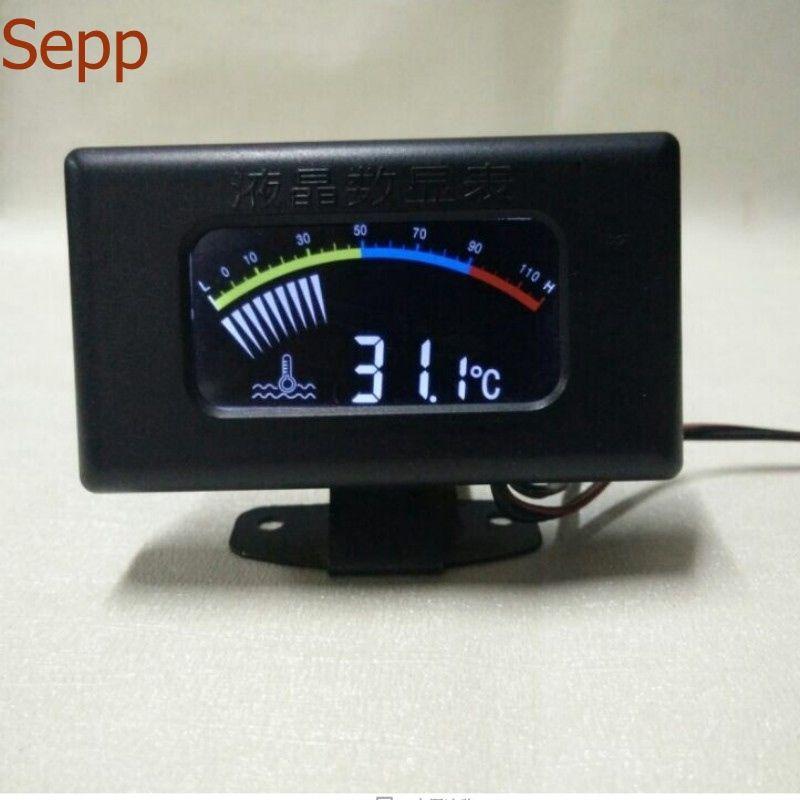 Sepp car motorcycle Water Temp Gauges led shining water temperature gauge