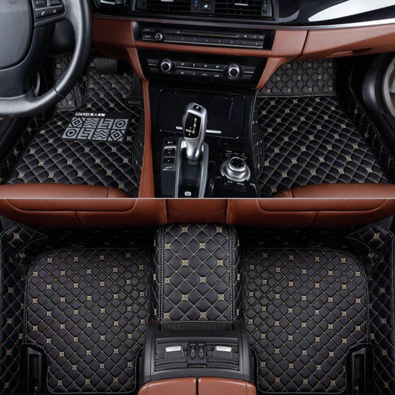 Custom car floor mats for BMW e30 e34 e36 e39 e46 e60 e70 e90 f10 f30 X1 X3 X4 X5 X6 X8 GT M1/2/3/4/5/6/7 525 530 318 Car carpe
