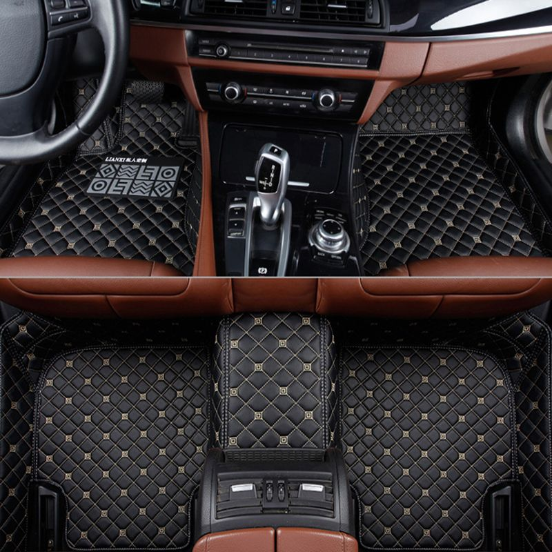Custom car floor mats for BMW e30 e34 e36 e39 e46 e60 e70 e90 f10 f30 X1 X3 X4 X5 X6 X8 GT M1/2/3/4/5/6/7 525 530 318 Car carpe