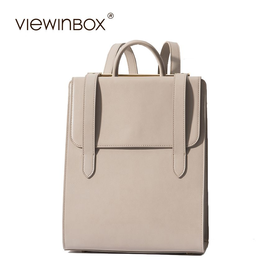 Viewinbox 2017 New Backpacks For Teenage Girls Fashion Women Leather Backpack Female Casual Style Lady Backpack