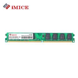 Imice Настольный ПК ОЗУ DDR2 1 г/2 ГБ 667 мГц pc2-5300s 800 мГц PC2-6400S DIMM non-ecc 240-Булавки 1.8 В для Intel памяти компьютера гарантии