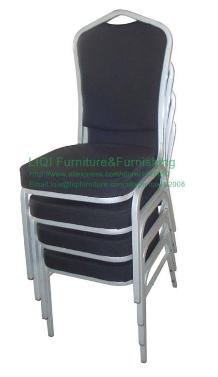 customize steel banquet chair sample hotel dining chair