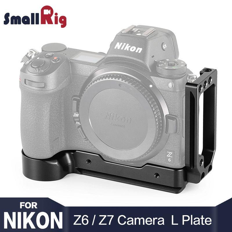 SmallRig Z6 Kamera L-Halterung für Nikon Z6 & für Nikon Z7 Kamera w/Arca-Typ Schnell release platte für vertikale oder horizontale 2258