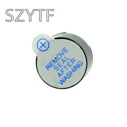 10 Buah 5 V Aktif Bel Magnetic Panjang Continous Beep Nada Dering Alarm 12 Mm Mini Aktif Piezo Buzzer Cocok