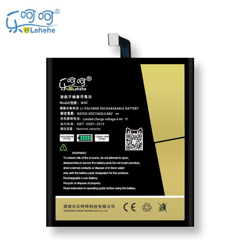 D'origine LEHEHE Batterie Pour Xiaomi Mi 4c Mi4c BM35 3000 mAh Remplacement Bateria Livraison Outils Cadeaux
