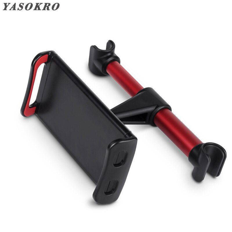 4-11 pouces siège arrière Support pour voiture extensible et rotatif voiture Support pour téléphone Support de tablette Support de montage Support voiture appui-tête Support
