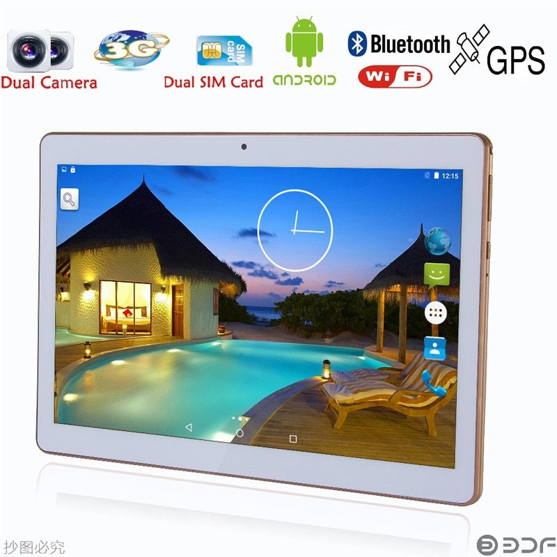 Russian warehouse shipping Original 10 inch 2GB+32GB 3G Phone Call SIM card Android 6.0 Tablet PC Quad Core CE WiFi FM