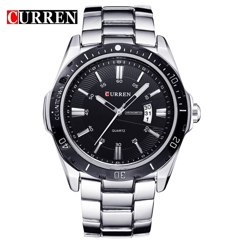 2018 NEW curren watches men Top Brand fashion watch quartz watch male relogio masculino men Army sports Analog Casual watch