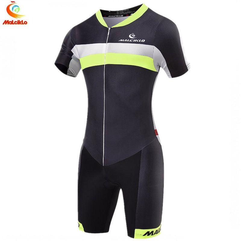 Malciklo Triathlon Anzug Männer Radfahren Kleidung Pro Team Skinsuit Overall Maillot Radfahren Jersey Ropa Ciclismo Bike Sport