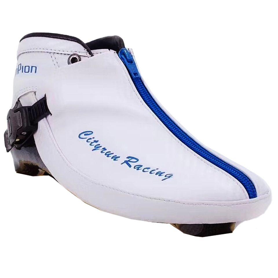 2019 Cityrun Up Stiefel für Geschwindigkeit Inline Skates Kohlenstoff Faser Oberen Schuhe Berufs Kinder Erwachsene Racing Skating Patines Boot Zip