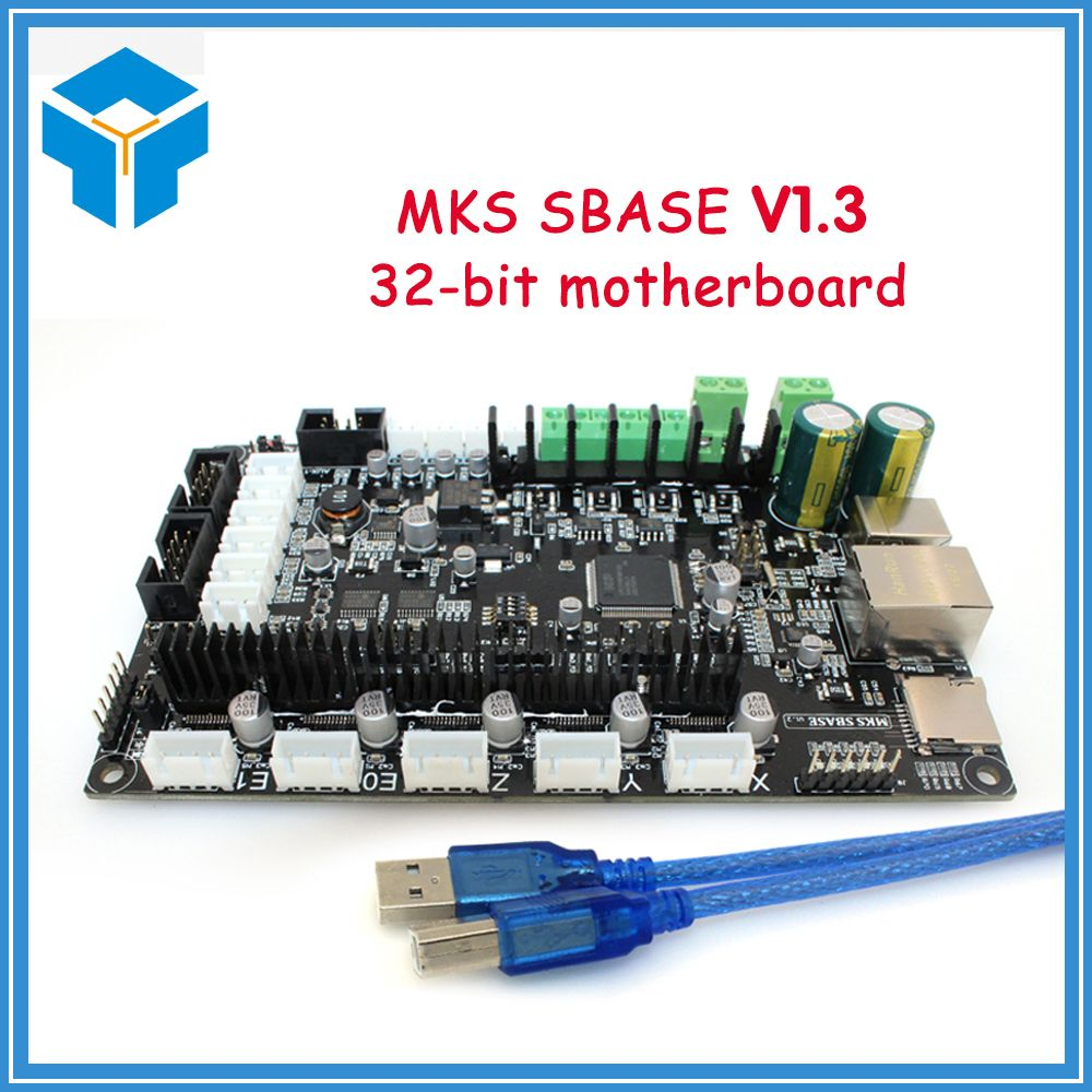 3D printer 32bit Arm platform Smooth control board MKS SBASE V1.3 open source MCU-LPC1768 compatible Smoothieware