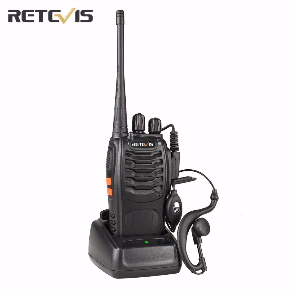 Retevis H777 Walkie Talkie Transceiver UHF400-470MHz Frequency Handy Portable Radio Set Amateur Two Way Radio A9104A