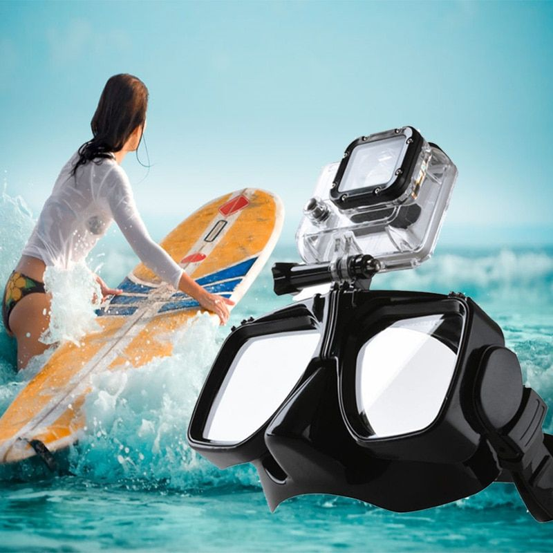 Gopro Waterproof Accessories Tempered Glass Goggles Swimming Diving Mask Glasses For Go Pro Hero 5 3 4 XiaoYi 4k Action Camera