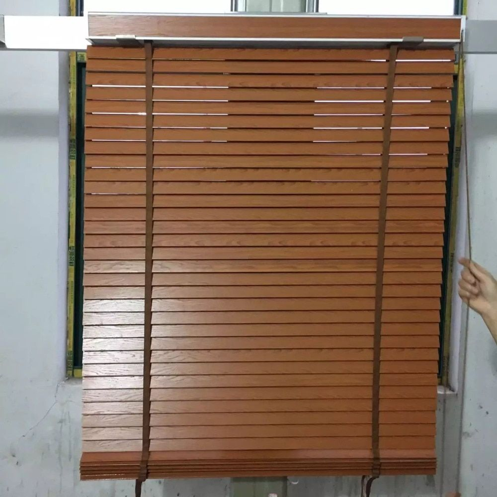 Special order forsivakumar manoharan FREE SHIPPING Grey WOODEN BLINDS WITH AX073